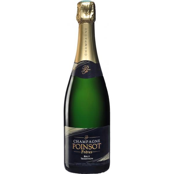 Champagne poinsot et fr res brut tradition en livraison for Champagne delamotte brut prix