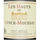 LES HAUTS DE LYNCH MOUSSAS - HAUT MÉDOC - 2011