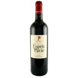 ESPRIT DE PAVIE - SAINT-EMILION ROUGE - 2009