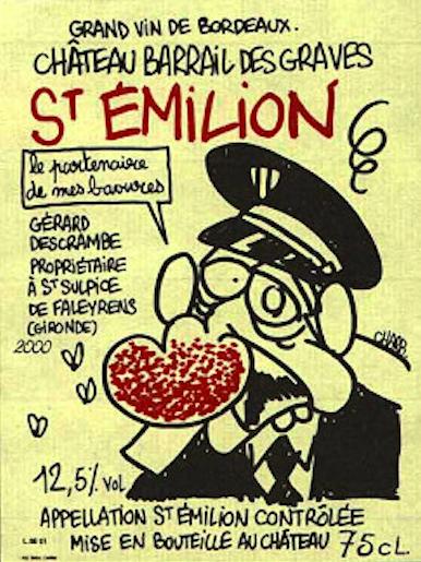 Charlie Hebdo, Charb, étiquette de vin