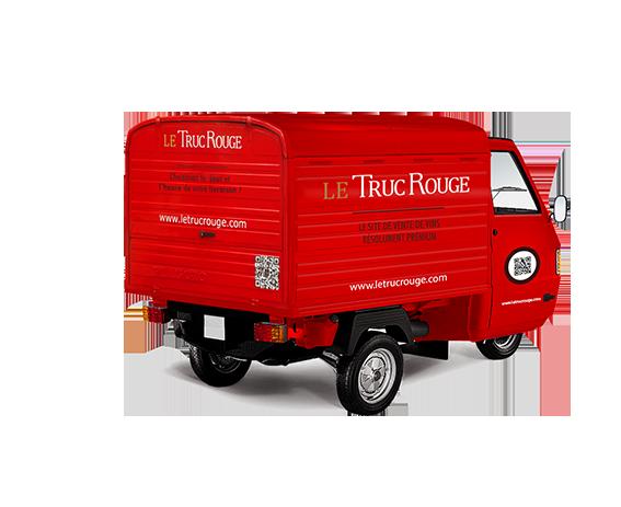 Triporteur Truc Rouge